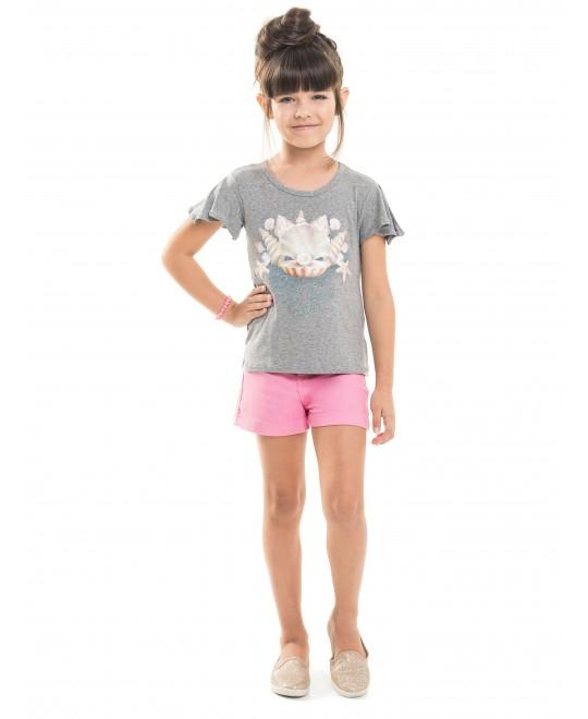 Blusa Infantil Shell Belle - Minore