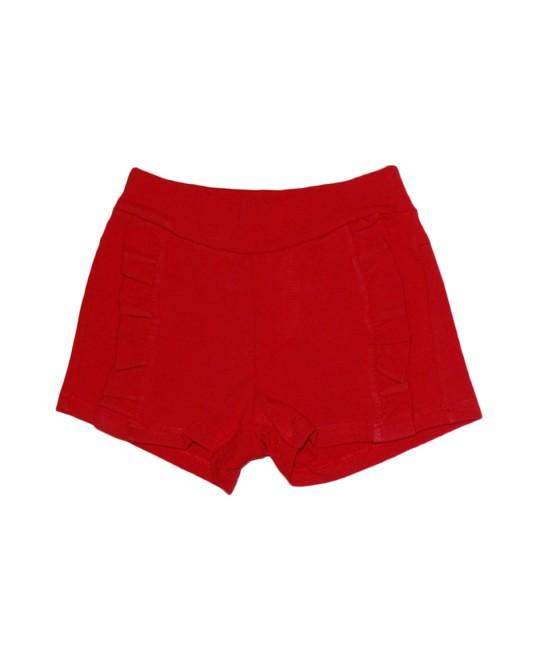 Shorts Infantil em Cotton com Babados - Have Fun