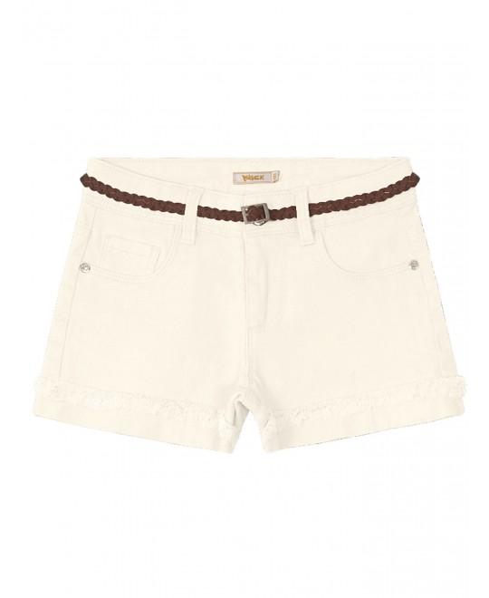 Shorts Infantil com Cinto Trançado - Trick Nick