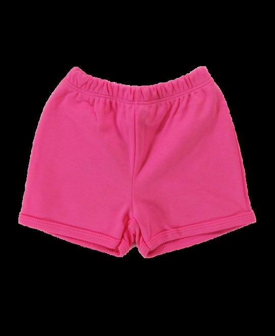 Shorts Bebê  Menina Pink - Piu Blu