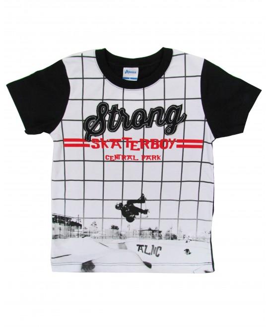 Camiseta Infantil Strong Skater Boy - Alenice