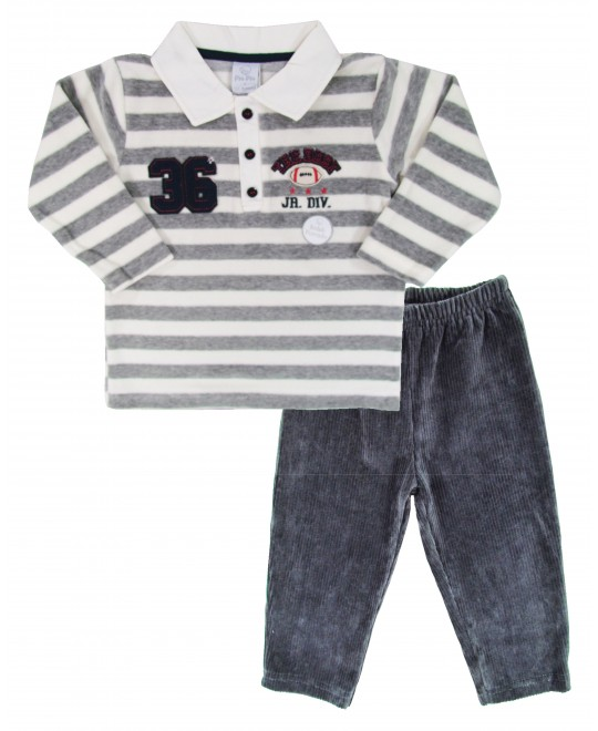 Conjunto Infantil Masculino em Plush The Best - Piu Piu