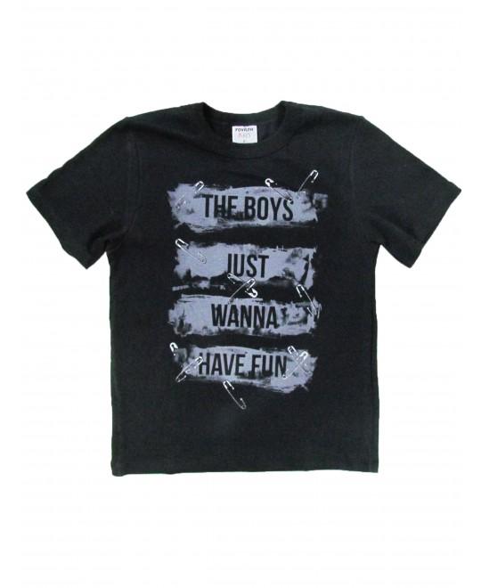 Camiseta Infantil Manga Curta The Boys - Rovitex