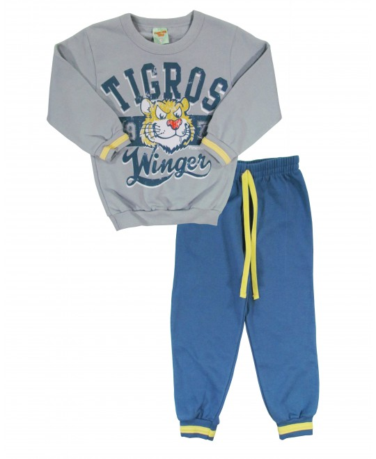 Conjunto Infantil Tigros Winger - Pimentinha Kids