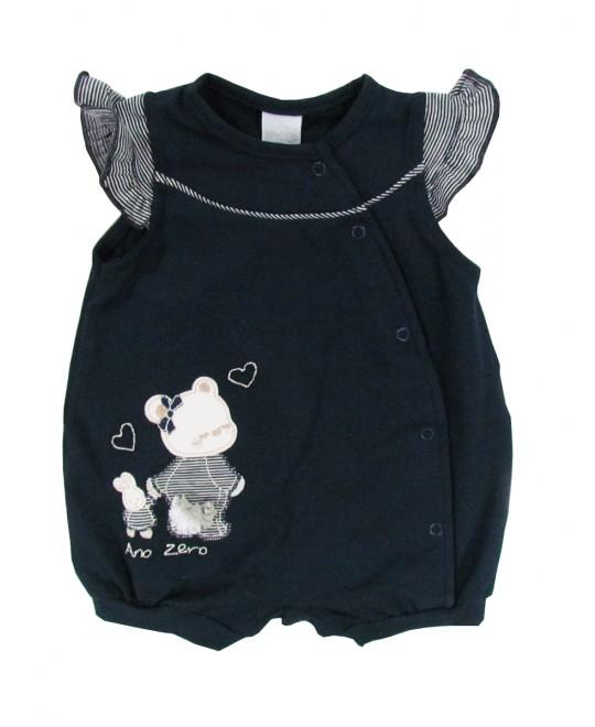 Macacão para Bebê Mamãe Ursa e Filhinha - Ano Zero