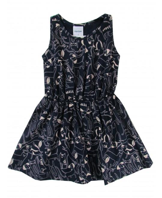 Vestido Infantil Estampado Bichinhos  - Rovitex