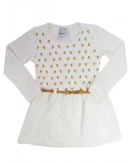 Vestido Infantil Love - Minore