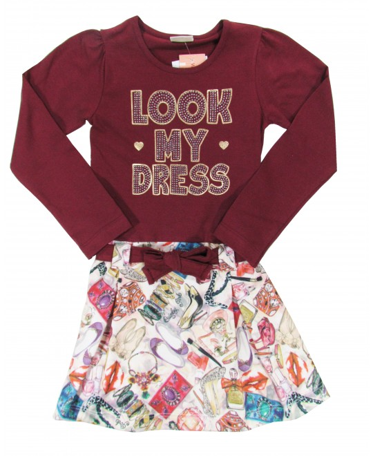 Vestido Infantil Look My Dress - Quimby