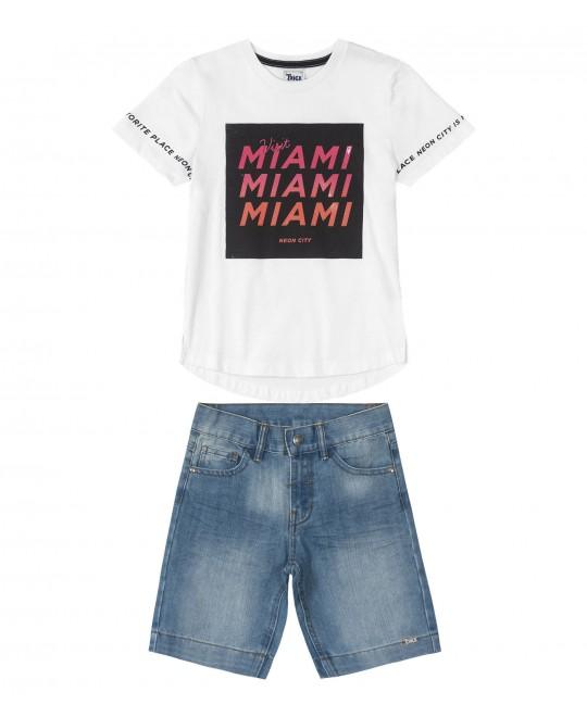 Conjunto Infantil Visit Miami - Trick Nick