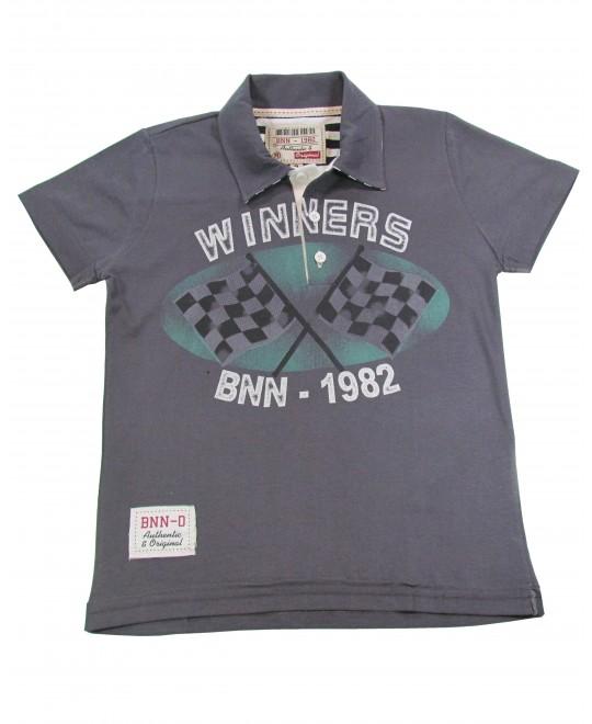 Camiseta Polo Infantil Winners - Banana Danger