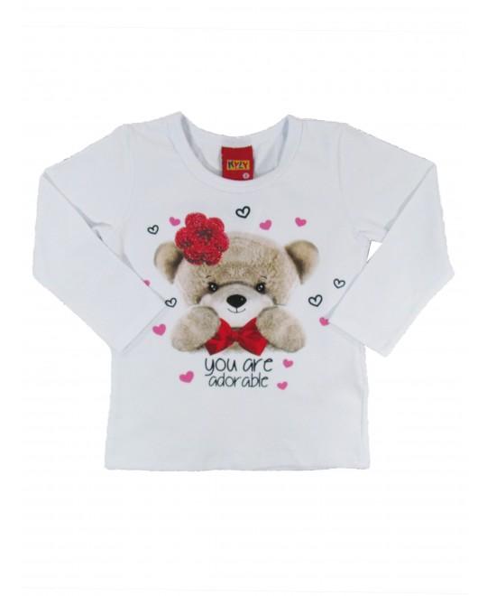Blusa Bebê You Are Adorable - Kyly