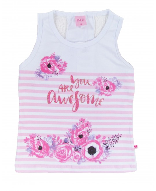 Blusa Regata Infantil You Are Anysome -Dila