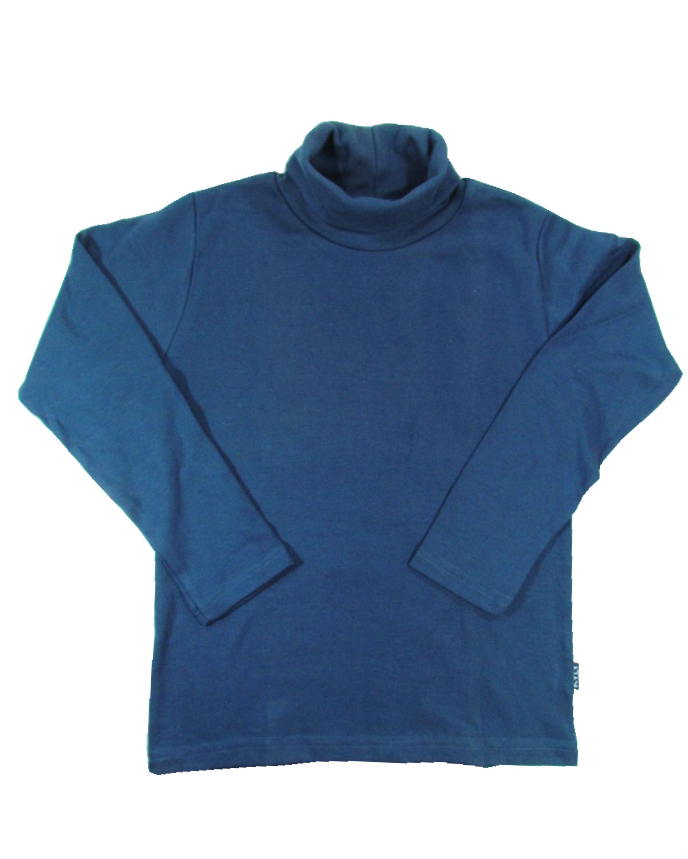 429129c120 Camiseta Gola Alta Manga Longa menino Infantil Básica - Kyly ...