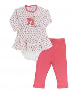 Conjunto Infantil Bata Body com Legging 73 - Piu Piu