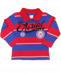 Camiseta Infantil Polo Aerial - Boca Grande