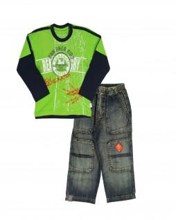 Conjunto Infantil Jeans Autentic - Banana Danger