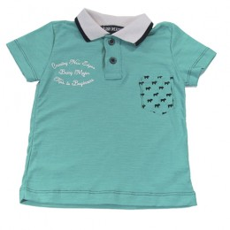 Camiseta Gola Polo Infantil Being Major - Arte Menor
