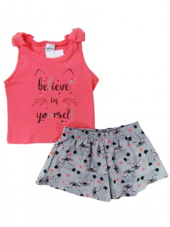 Conjunto Infantil Believe in Yourself - Rovitex