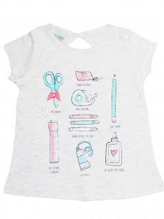 Blusa Infantil Material Escolar - Have Fun