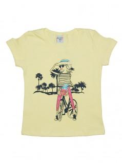 Blusa Infantil Menina na Bike - Have Fun