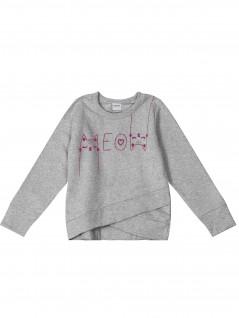 Blusão Infantil Feminino Meow - Rovitex