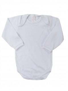 Body Manga Longa para Bebê Básico Liso - Petutinha