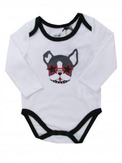Body para Bebê Manga Longa Bulldog - Tip Top