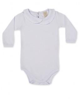 Body para Bebê Manga Longa com Gola Redonda - Pingo Lelê