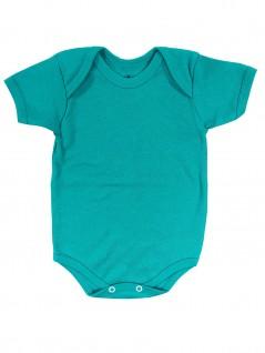 Body para Bebê Básico Verde Primavera  - Piu Blu