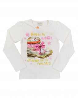 Blusa Infantil Bring On The Winter - Quimby