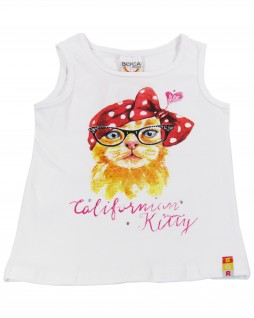 Blusa Infantil Californian Kitty - Boca Grande