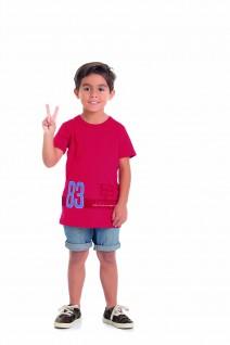 Camiseta Infantil Longline 83 Brooklyn - Alenice