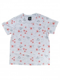 Camiseta Infantil Masculina Estampada Caranguejo - Rovitex
