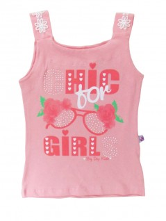 Blusa Infantil Regata Chic Girl  - Big Day