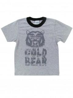 Camiseta Infantil Manga Curta Gold Bear - Rovitex