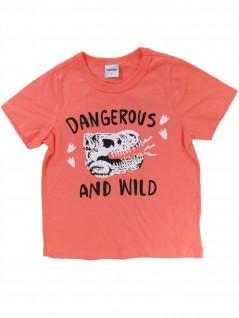Camiseta Infantil Masculina Dangerous  - Rovitex