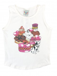 Blusa Infantil Regata Doces - Have Fun