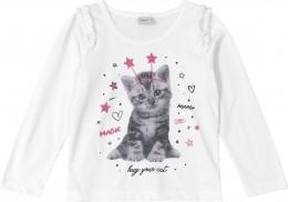 Blusa Infantil  Manga Longa Hug your Cat - Rovitex