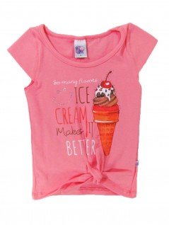 Blusa Infantil Ice Cream - Big Day