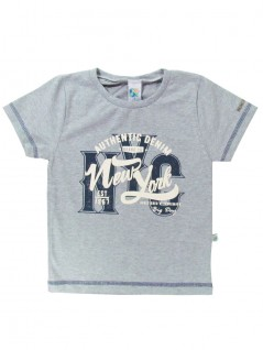 Camiseta Infantil Authentic Denim - Big Day