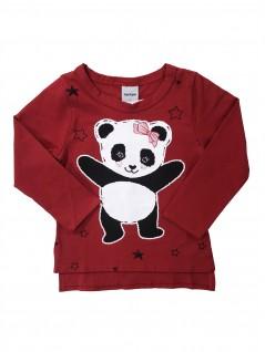 Blusa Infantil Feminina Panda - Rovitex