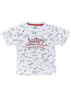 Camiseta Bebê Menino Sailor - Trick Nick