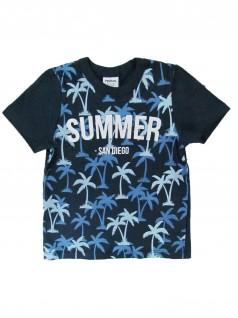 Camiseta Infantil Manga Curta  Summer - Rovitex