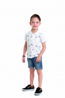 Camiseta infantil Gola Polo Travel - Alenice