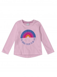 Blusa Bebê You Bring Color to My Life - Rovitex