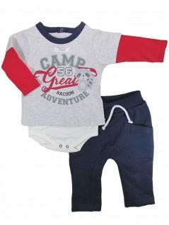 Conjunto para Bebê Camp Great - Piu Piu