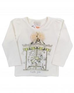 Blusa Infantil Carrossel - Quimby