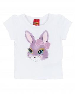 Blusa  Infantil Coelhinha com Laço - Kyly