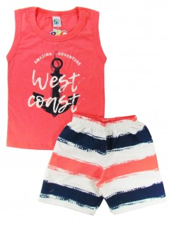 Conjunto infantil Regata West Coast - Big Day