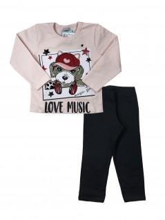 Conjunto Infantil Inverno Love Music  - Rovitex